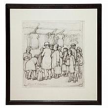 Daniel Ralph Celentano American, 1902-1980 Shopping
