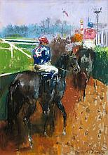 Randall Vernon Davey American, 1887-1964 At the Races
