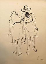 Jean Jansem French, 1920-2013 Trois Femmes