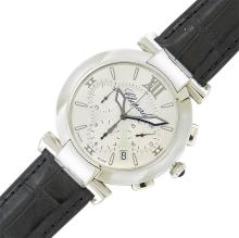 Gentleman''s Stainless Steel and Mother-of-Pearl ''Imperiale'' Wristwatch, Chopard
