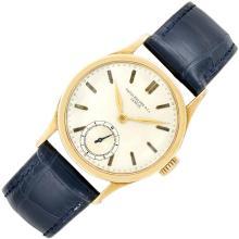 Gentleman''s Gold ''Calatrava'' Wristwatch, Patek Philippe