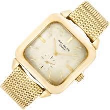 Gentleman''s Gold ''TV Watch'' Wristwatch, Patek Philippe, Ref. 2540