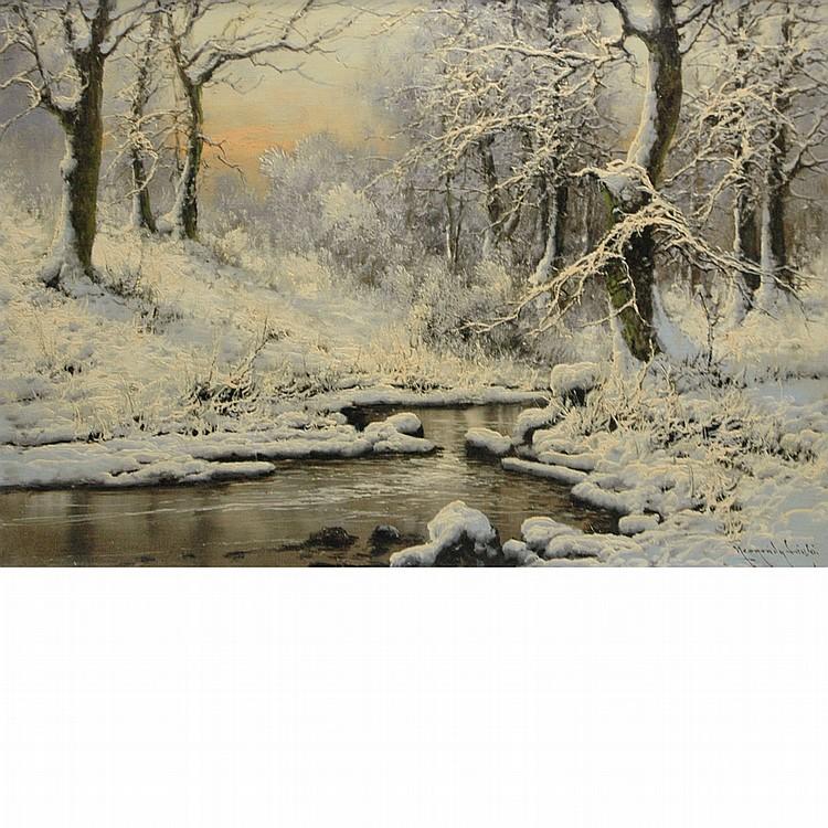 Laszlo Neogrady Hungarian, 1896-1962 Snowy River
