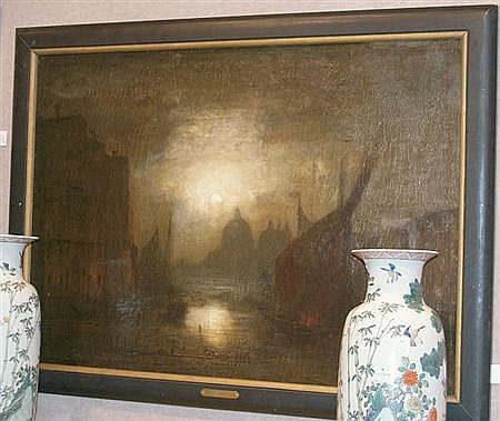 George Henry Bogert American, 1864-1944 Venetian Moonlight