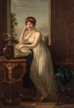 Marie-Victoire Lemoine French, 1754-1820 Madame Leclerc, nee Pauline Bonaparte, circa 1798-99 Signed M. Vic....