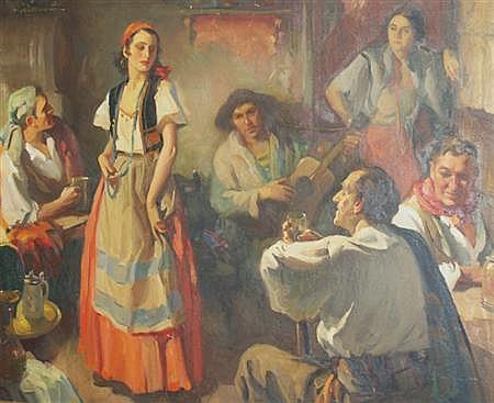 Walter G. Ratterman American, 1887-1944 A Romany Night, 1934