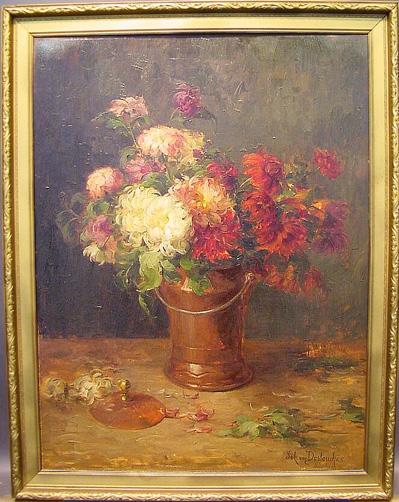 Johanna von Destouches German, 1869-1956 FLORAL STILL LIFE