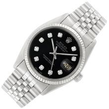 Gentleman''s Stainless Steel Wristwatch, Rolex, Ref. 16000
