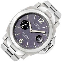 Gentleman''s Titanium ''Luminor Marina'' Wristwatch, Panerai, Ref. Pam 91