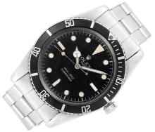 Gentleman''s Stainless Steel ''Submariner'' Wristwatch, Rolex, Ref. 653611