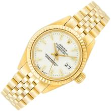 Lady''s Gold Wristwatch, Rolex, Ref. 6917