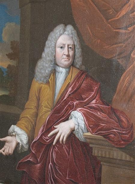 Mattheus Verheyden Dutch, 1700-1776 Portrait of a Gentleman