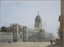 George Pyne British, 1800-1884 Tom Gate Christ Church, Oxford, 1852