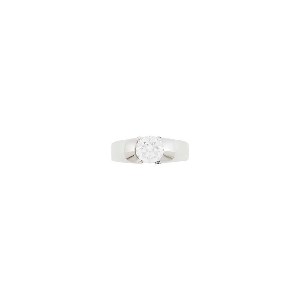 Bulgari Platinum and Diamond Ring