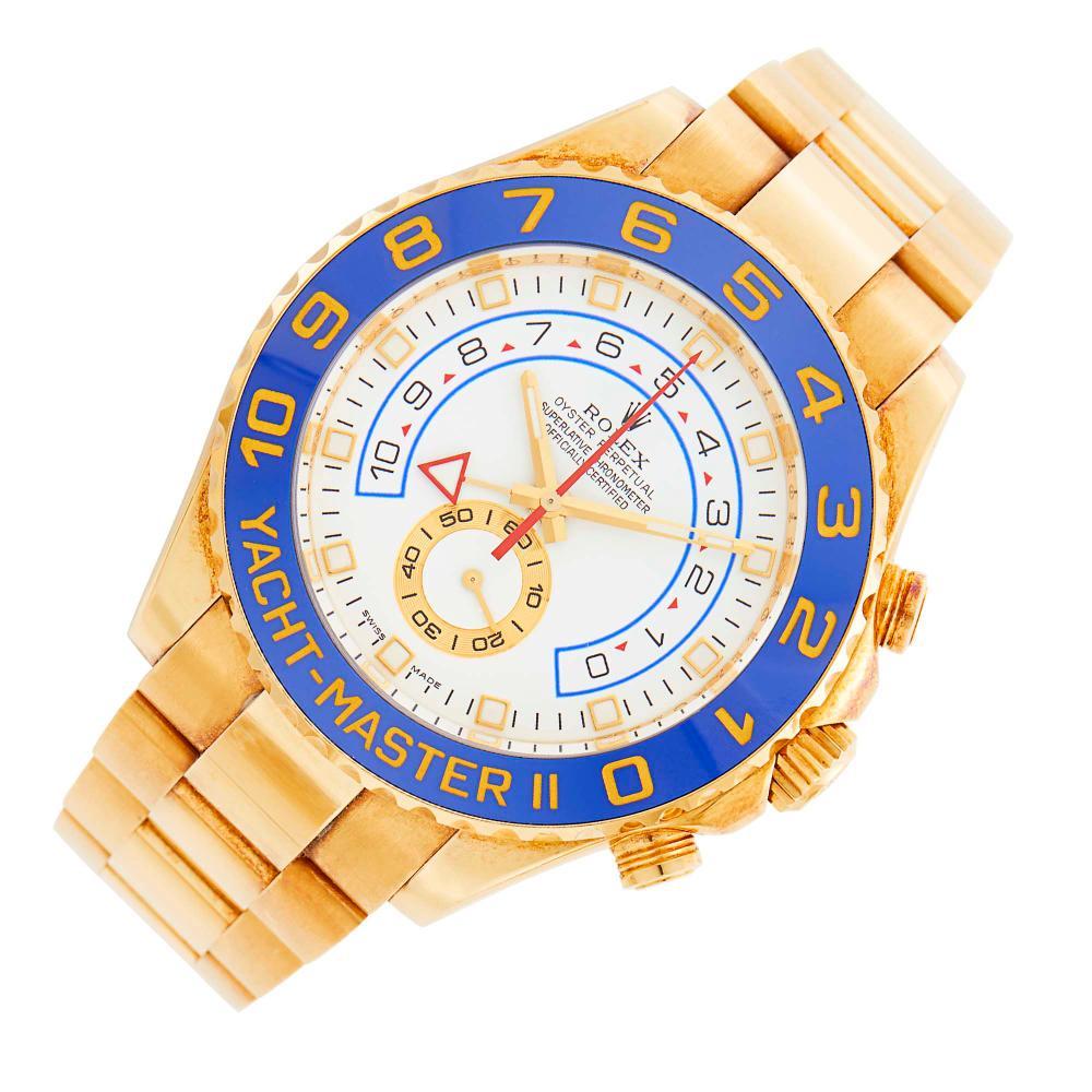 Rolex Gentleman's Gold 'Yacht-Master II' Wristwatch, Ref. 116688