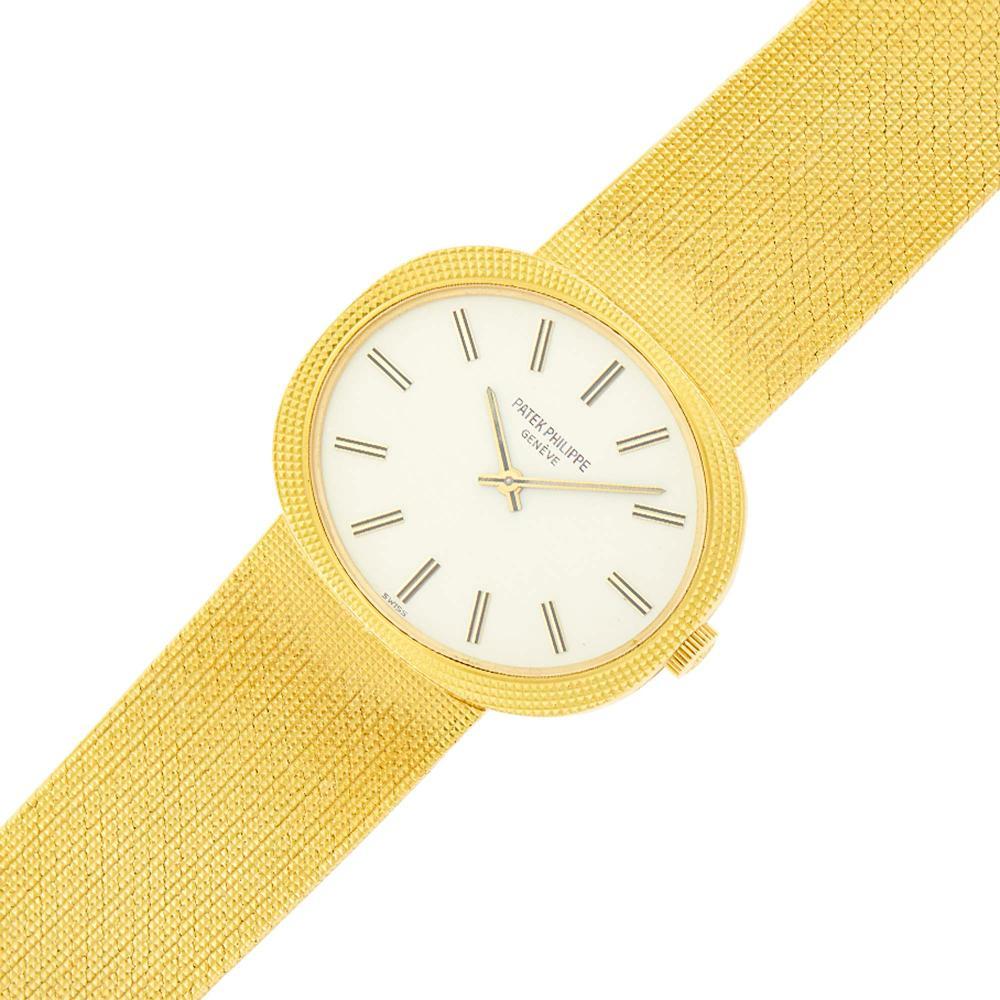 Patek Philippe Gentleman's Gold 'Golden Ellipse' Wristwatch, Ref. 3581/1