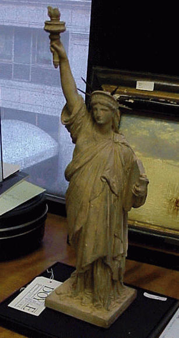 Frederic Auguste Bartholdi French, 1834 - 1904 LIBERTY ENLIGHTENING THE WORLD - MAQUETTE FOR THE