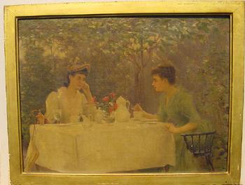 Carle John Blenner 1862-1952 TEA TIME