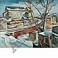 Charles Rosen American, 1878-1950 Railroad Bridge, Charles Rosen, Click for value