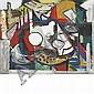 John von Wicht German/American, 1888-1970 Untitled (Cubist Still Life), John Von Wicht, Click for value
