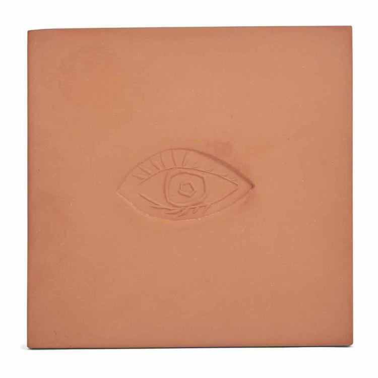 Pablo Picasso Ovale Avec L 39 Oeil A Red Ceramic Tile