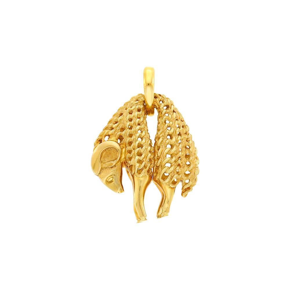 Cartier Gold 'Toison d'Or' Pendant, France