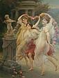 Jules Scalbert French, b. 1851 The Spring Dance, Jules Scalbert, Click for value