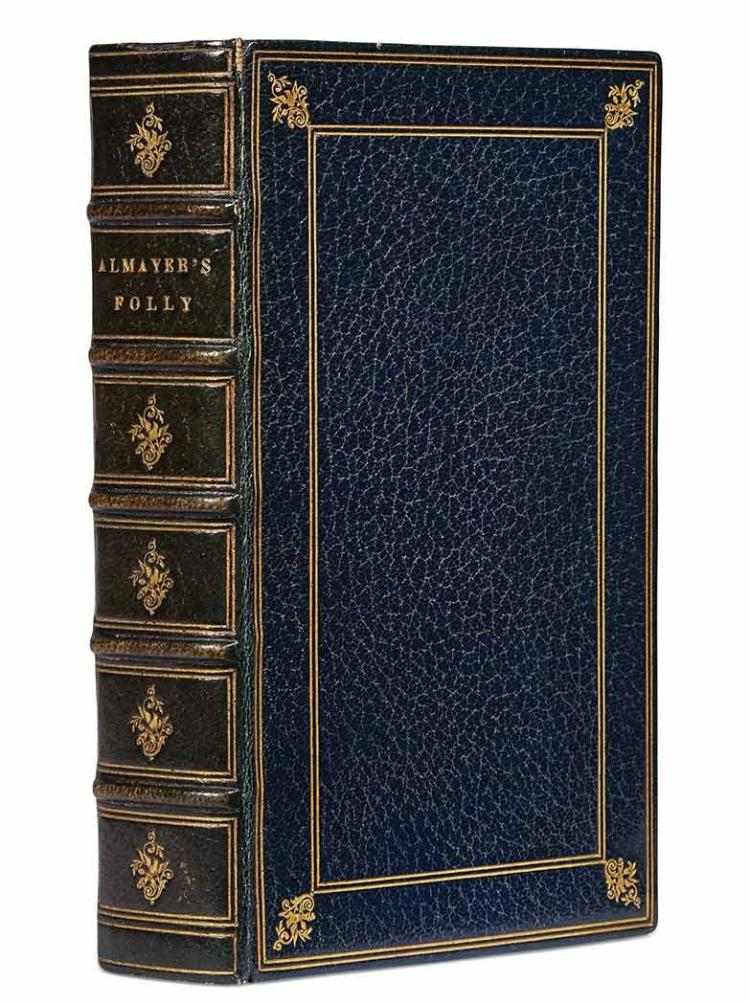 CONRAD, JOSEPH Almayer''s Folly. [London: T. Fisher Unwin, 1895]. An annotated copy without front matter and with the followi...