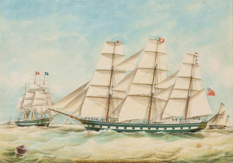 Jacob Spin Dutch, 1806-1875 Dunedin, 1869