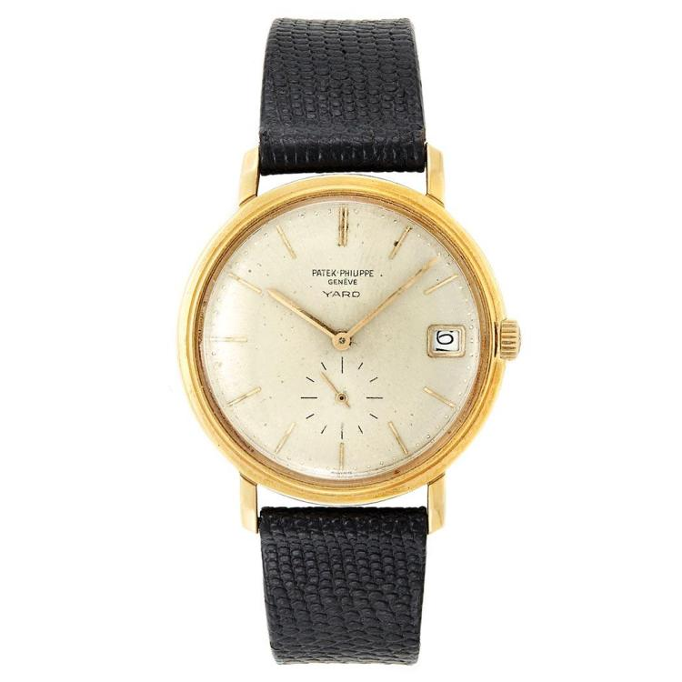 Gentleman''s Gold Wristwatch, Patek Philippe, Retailed by Yard, Ref. 3445