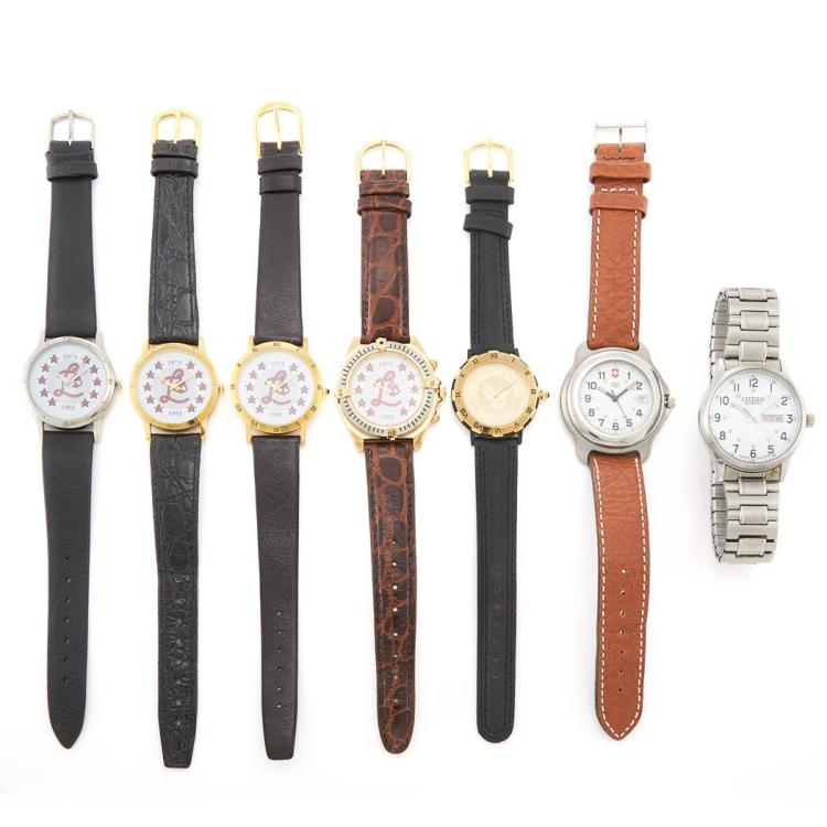 Seven Wristwatches