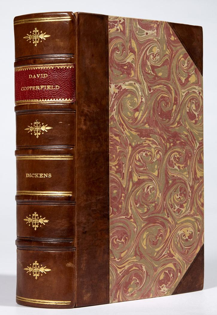 DICKENS, CHARLES David Copperfield. London: Bradbury & Evans, 1850. First edition, likely bound from the original parts, wit...