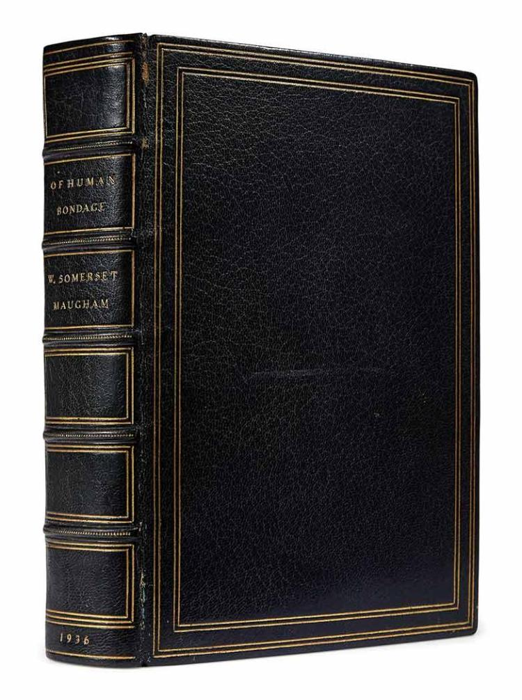 MAUGHAM, W. SOMERSET Of Human Bondage. Garden City: Doubleday, Doran, 1936. Copy number 1 from the edition of 751 copies, si...