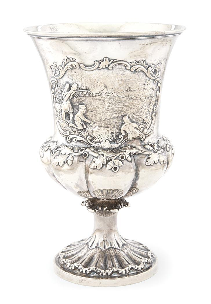 Victorian Silver Hunt Cup