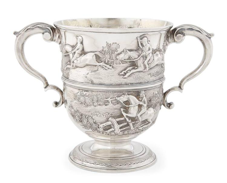 George II Sterling Silver Hunt Cup