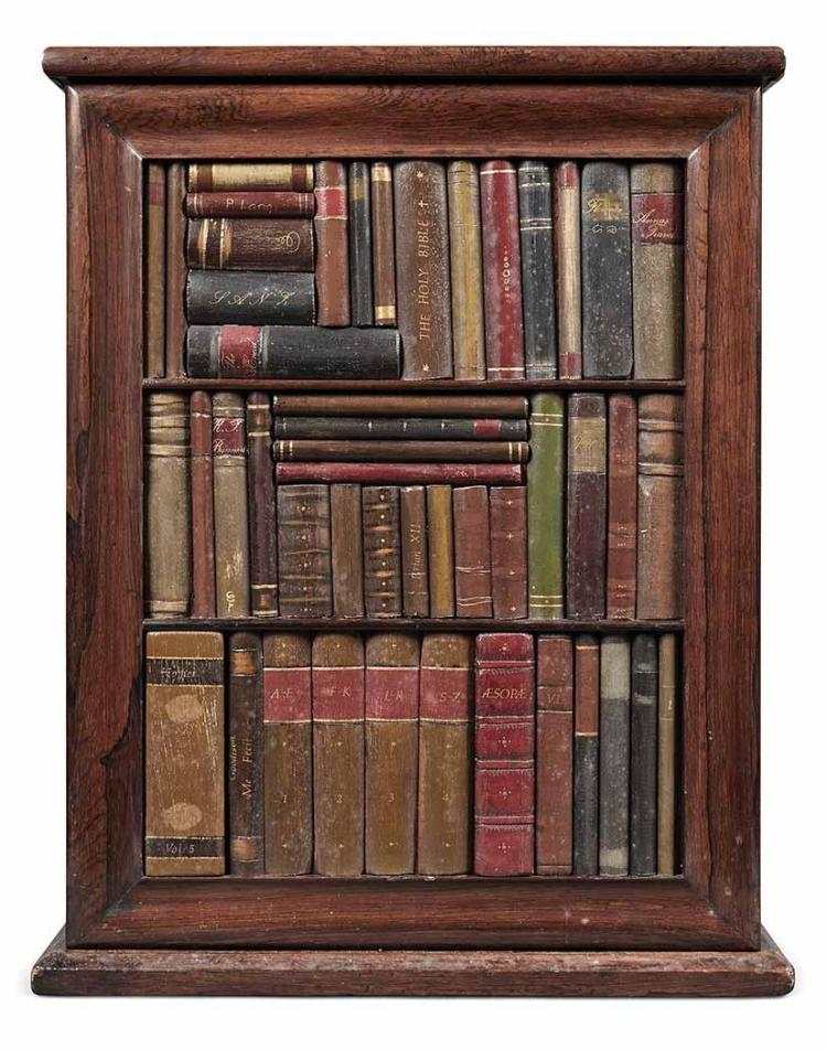 Victorian Rosewood Hanging Cupboard