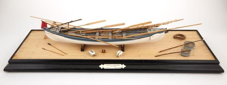 Model of the Beetle Whaleboat by Lt. Col. Colin B. Gray MBE of Nantucket (1915-1992)