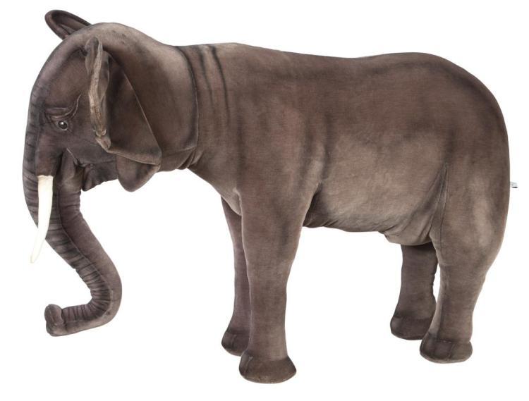 Hansa Stuffed Figure of an Elephant