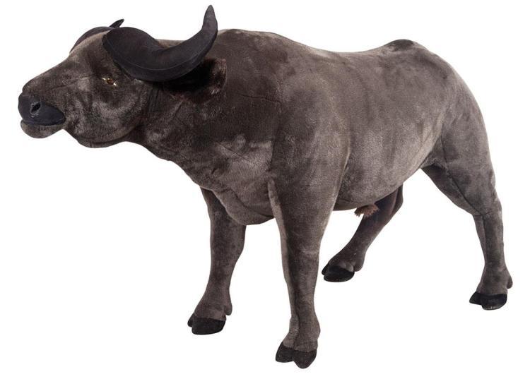 Stuffed Figure of a Water Buffalo