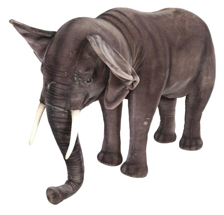 Hansa Stuffed Figure of an Elephant