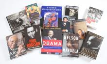 [BOOKS] Group of approximately thirty-five volumes on African American biography, arts and related subjects. Original bindin...