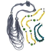 Group of Beaded Necklaces