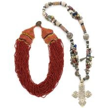 Group of American Indian Beaded Necklaces