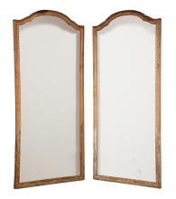 Pair of Pine Mirrors