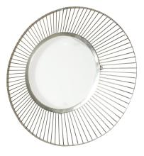 Silvered Metal Mirror