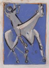 Marino Marini Italian, 1901-1980 Cavalier, 1948