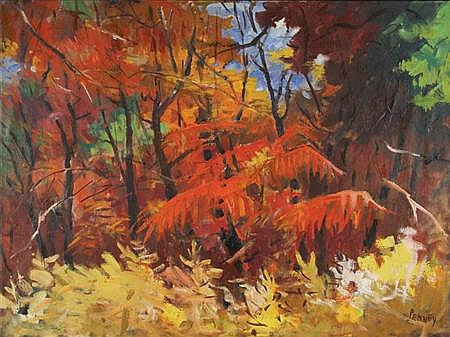 James Penney American, 1910-1982 Sunlight Through Summer