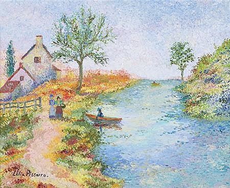 Lelia Pissarro French, 1963 Le Retour de David a Midi (mon man)