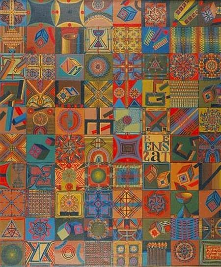 Zbigniew Makowski Polish, b. 1930 Res Ens Est, 1967