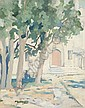 Arrah Lee Gaul American, 1883-1980 Mosque-Inspiration, 1924, Arrah Lee Gaul, Click for value